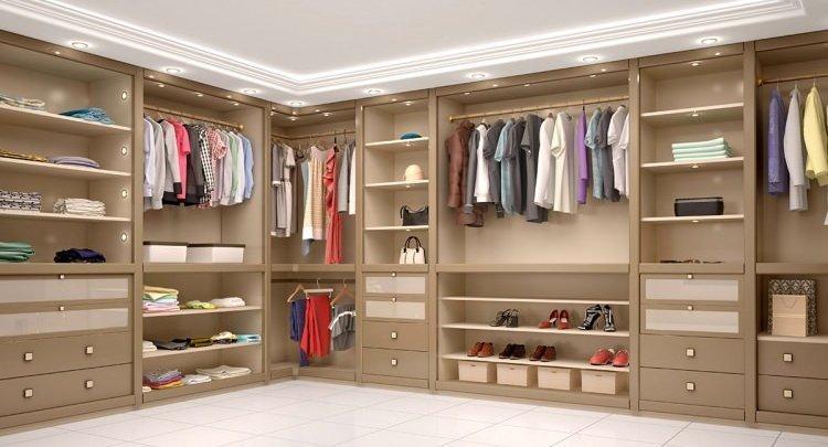 Giyinme Odaları İçin Yeni Fikirler 1