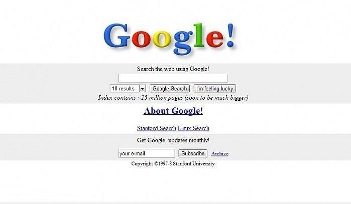 12 Büyük İnternet Sitesinin Kurulduklarında Nasıl Gözüküyordu?