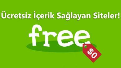 Photo of Ücretsiz İçerik Sağlayan Faydalı Siteler!